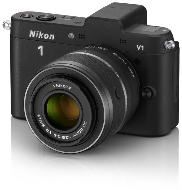 Nikon 1 V1 Kit 10-30mm VR - Sort