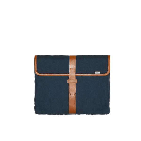 Sandqvist Pascal Canvas iPad Sleeve / Etui - Blå