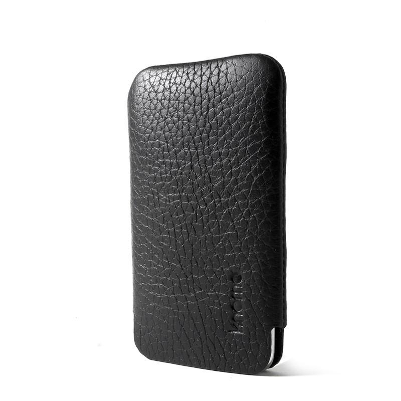 Knomo iPod Touch Læder Sleeve - Sort
