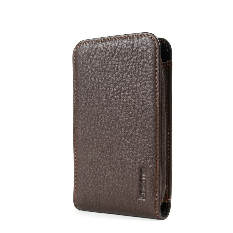 Knomo iPhone 3G/3GS/4/4S Læder Sleeve - Brun
