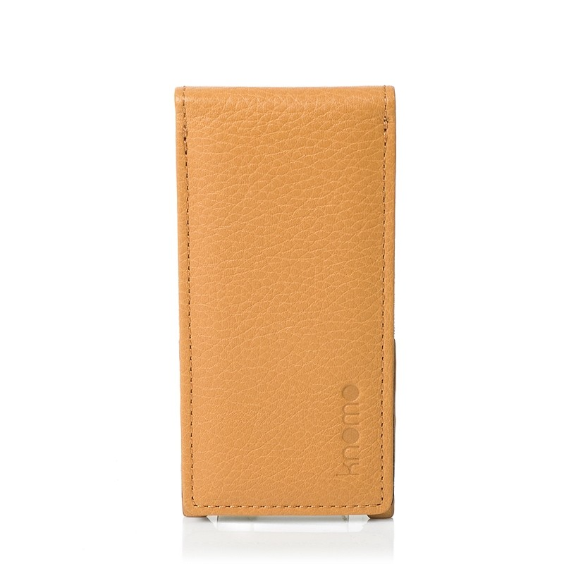 Knomo iPod Nano 5G Læder Flip Case - Orange