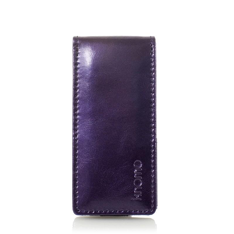 Knomo iPod Nano 5G Læder Flip Case - Lilla