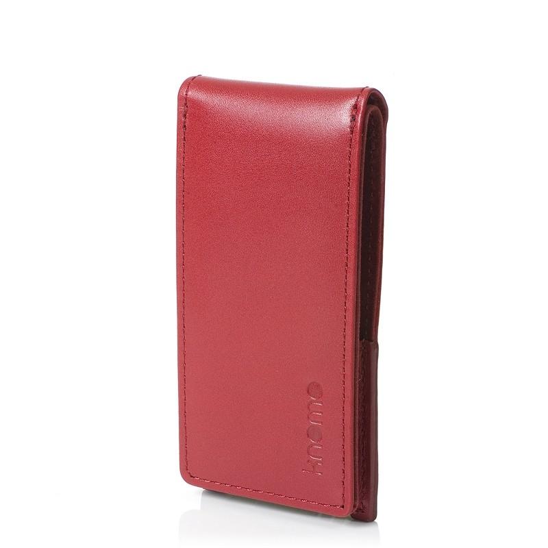 Knomo iPod Nano 5G Læder Flip Case - Rød