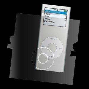 invisibleSHIELD™ Full Body til Apple iPod Nano 2nd Gen