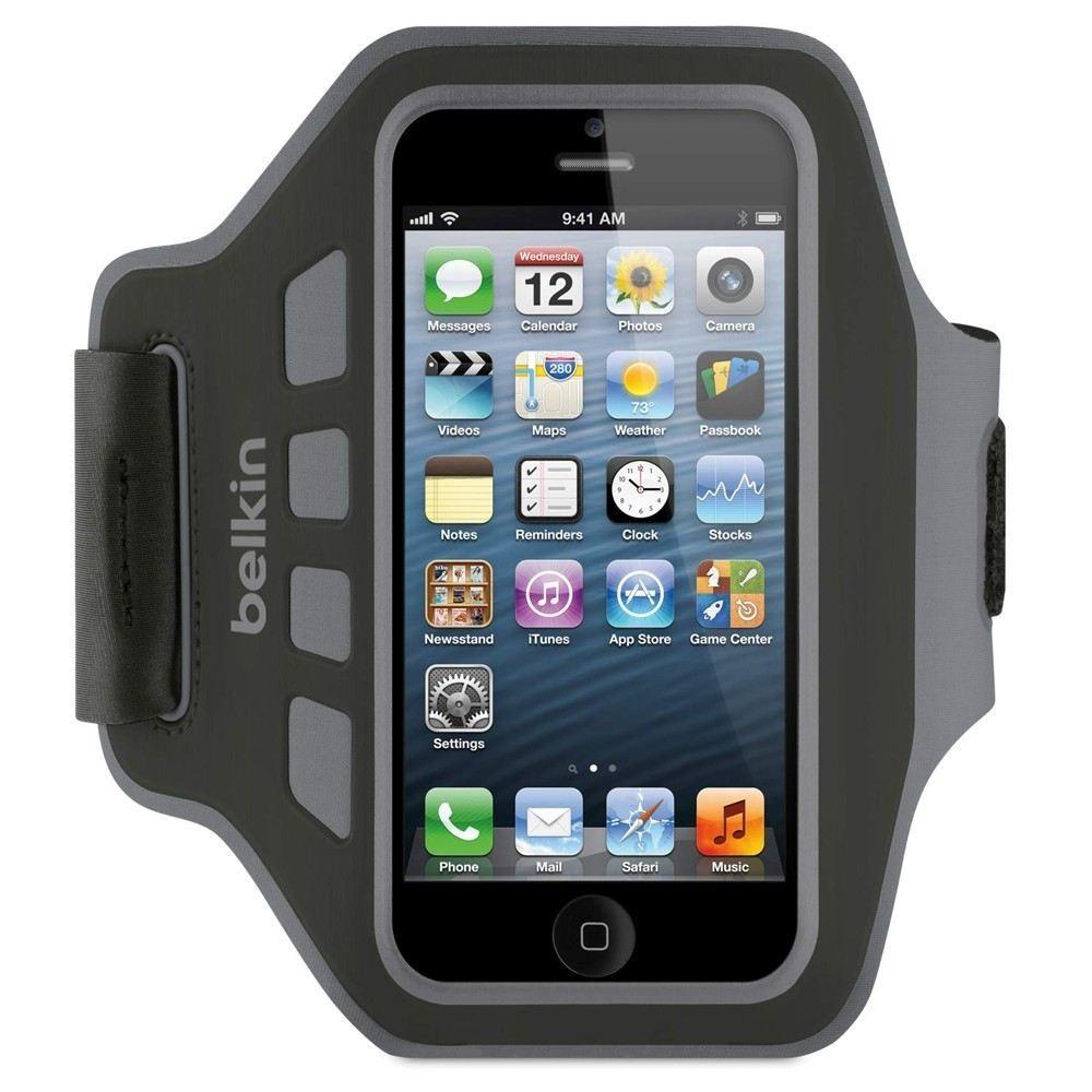 Belkin Easefit Sport Løbearmbånd til iPhone 5 / Touch - Sort