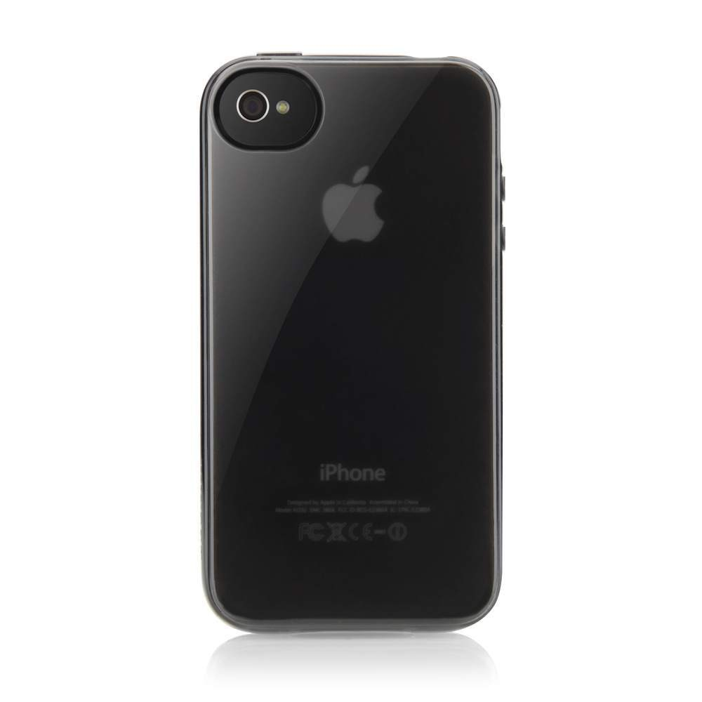 Belkin Case Vue Transparrent Black Pearl til iPhone 4/4S - Sort