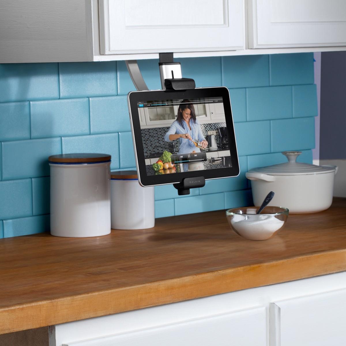 "Belkin Universal Tablet Under Kitchen-Cabinet Mount - 7""-10"""
