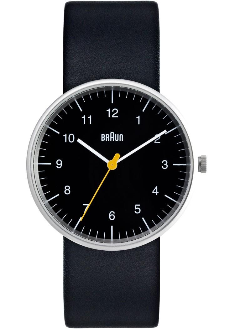 Braun Sort Læder Armbåndsur BN0021BKBKG - Sort