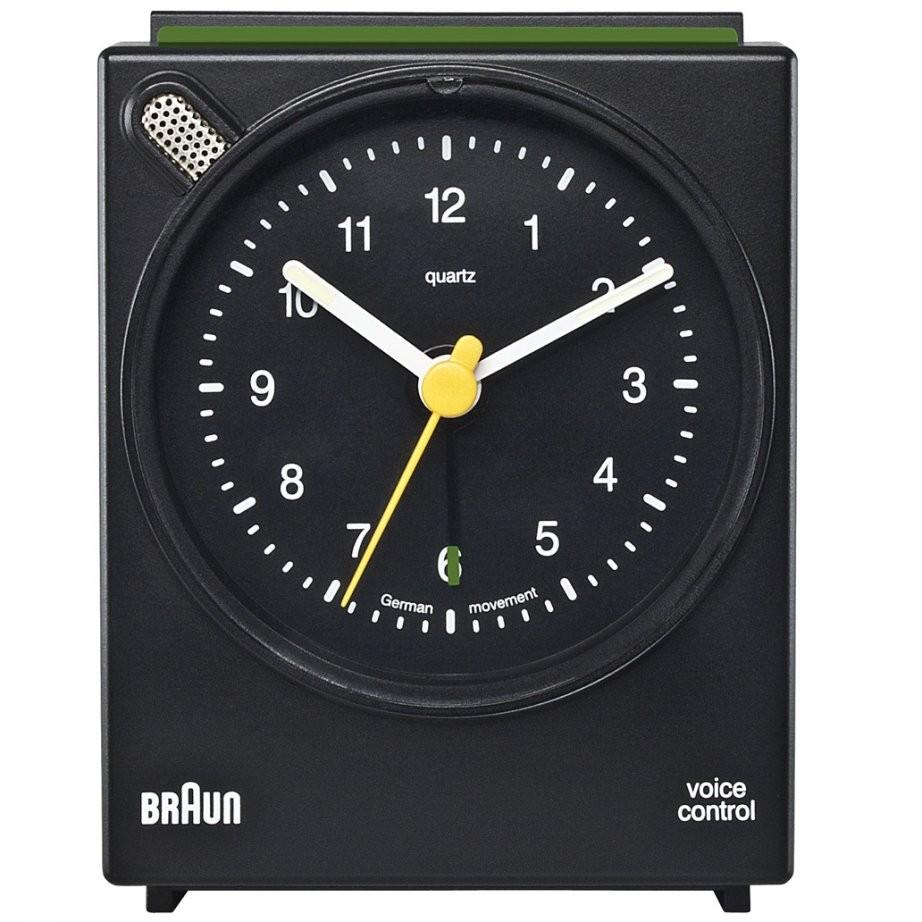 Braun Voice Activated Vækkeur BNC004BKBK - Sort