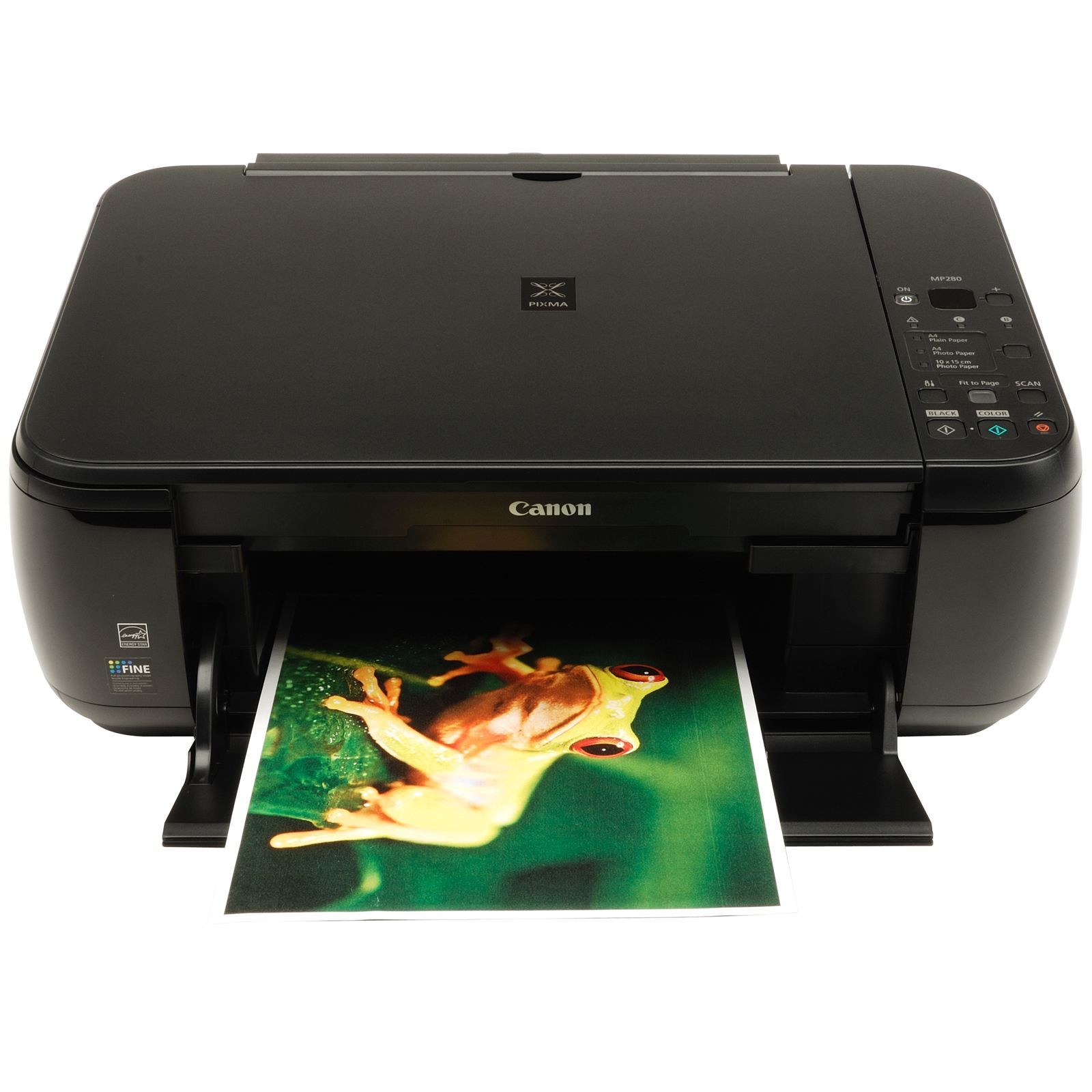 Canon PIXMA MP280 Multi-printer Inkjet m/ Scanner - Sort