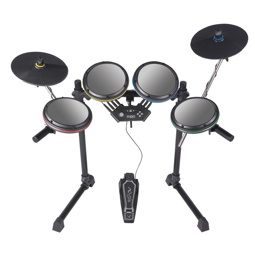 ION DrumRocker Premium Drum Set For Rock Band 2 - Nintendo Wii