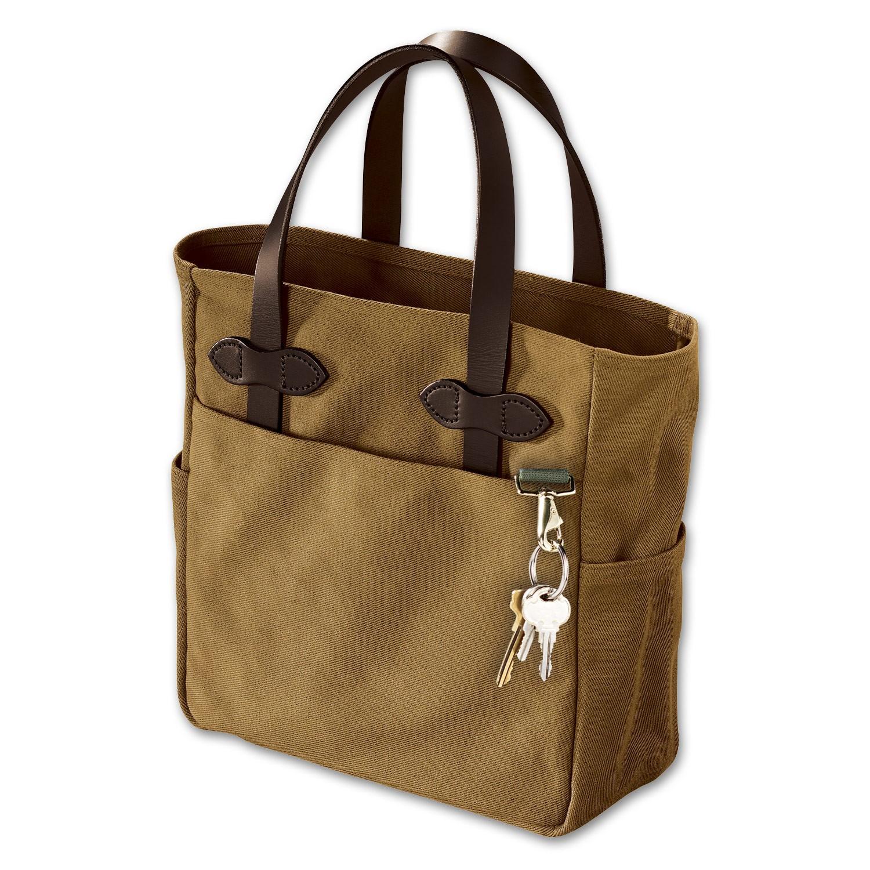 Filson Small Tote Bag - Dark Tan