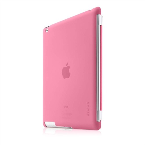 Belkin Slim Snap On Backcover til iPad 2 / 3 / 4 Kompatibel med Smartcover - Apple Pink