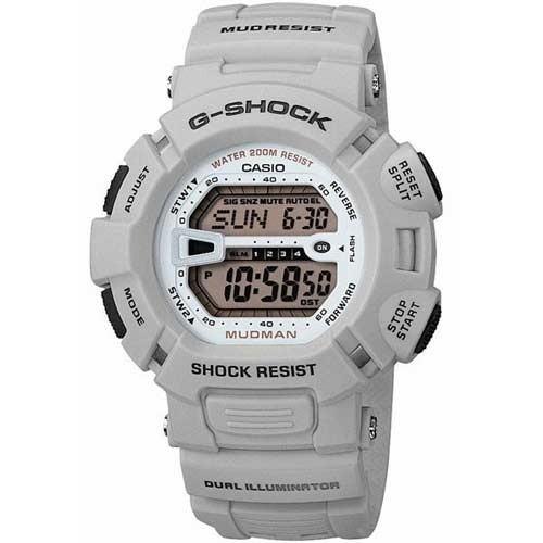 Casio G-Shock G-9000-8VCR Herre Armbåndsur Mudman - Beige