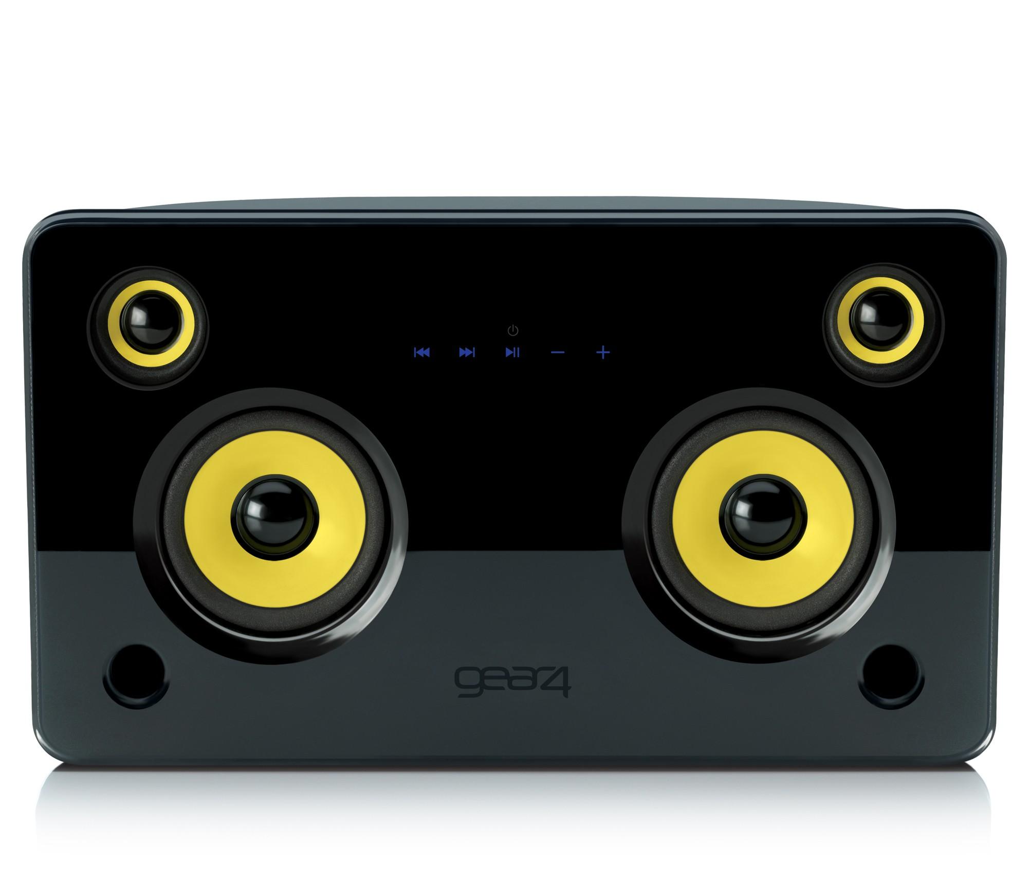 GEAR4 HouseParty 5 Stereo Højtalere til iPod / iPhone - Sort