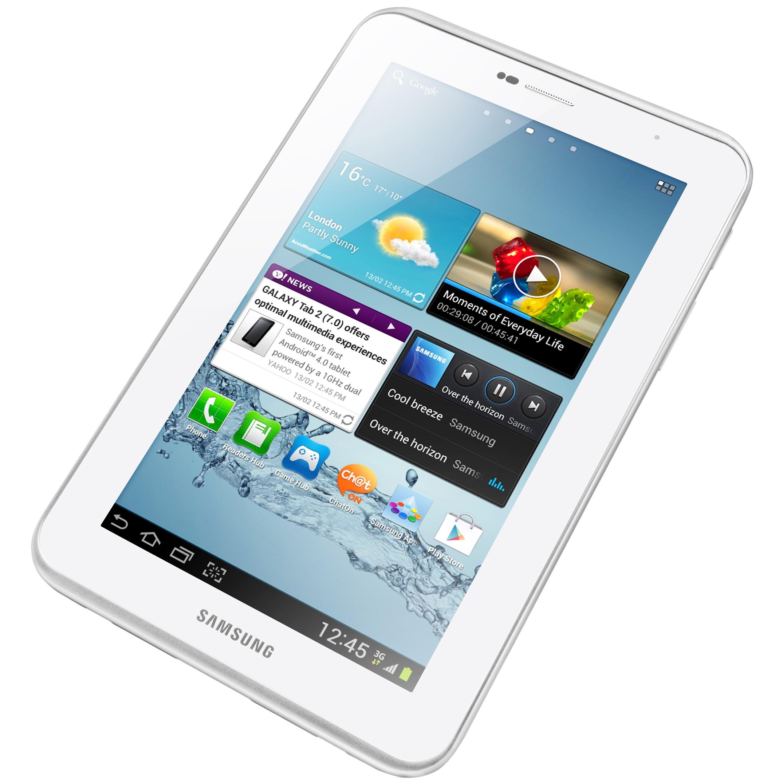 """Samsung 7"""" Galaxy Tab 2 8GB Wifi - Hvid"""