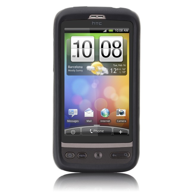 HTC Desire Silikone Cover - Sort
