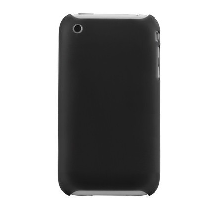 Snap-On Cover til iPhone 3G/3GS - Sort