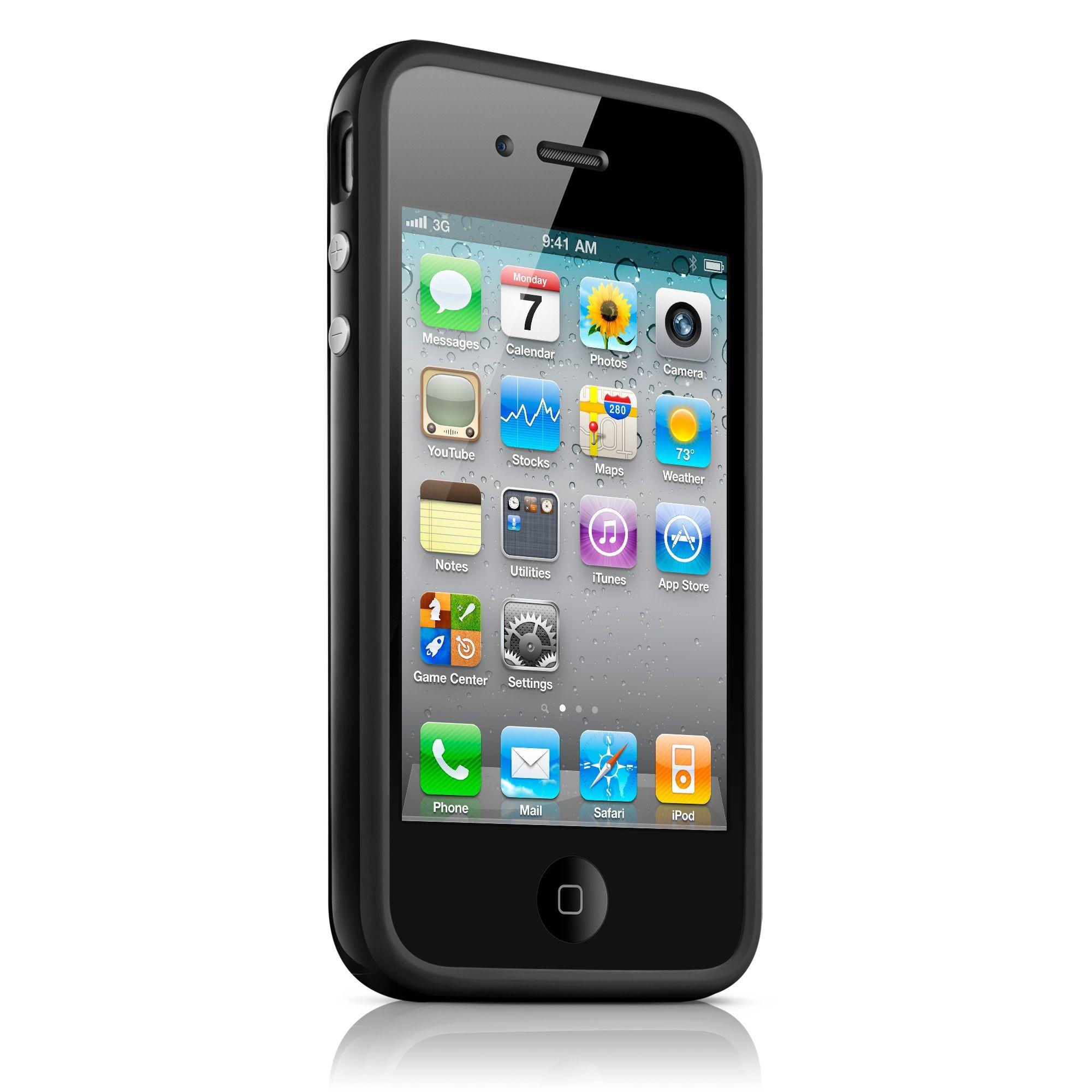 iPhone 4 / 4S Bumper Case - Sort