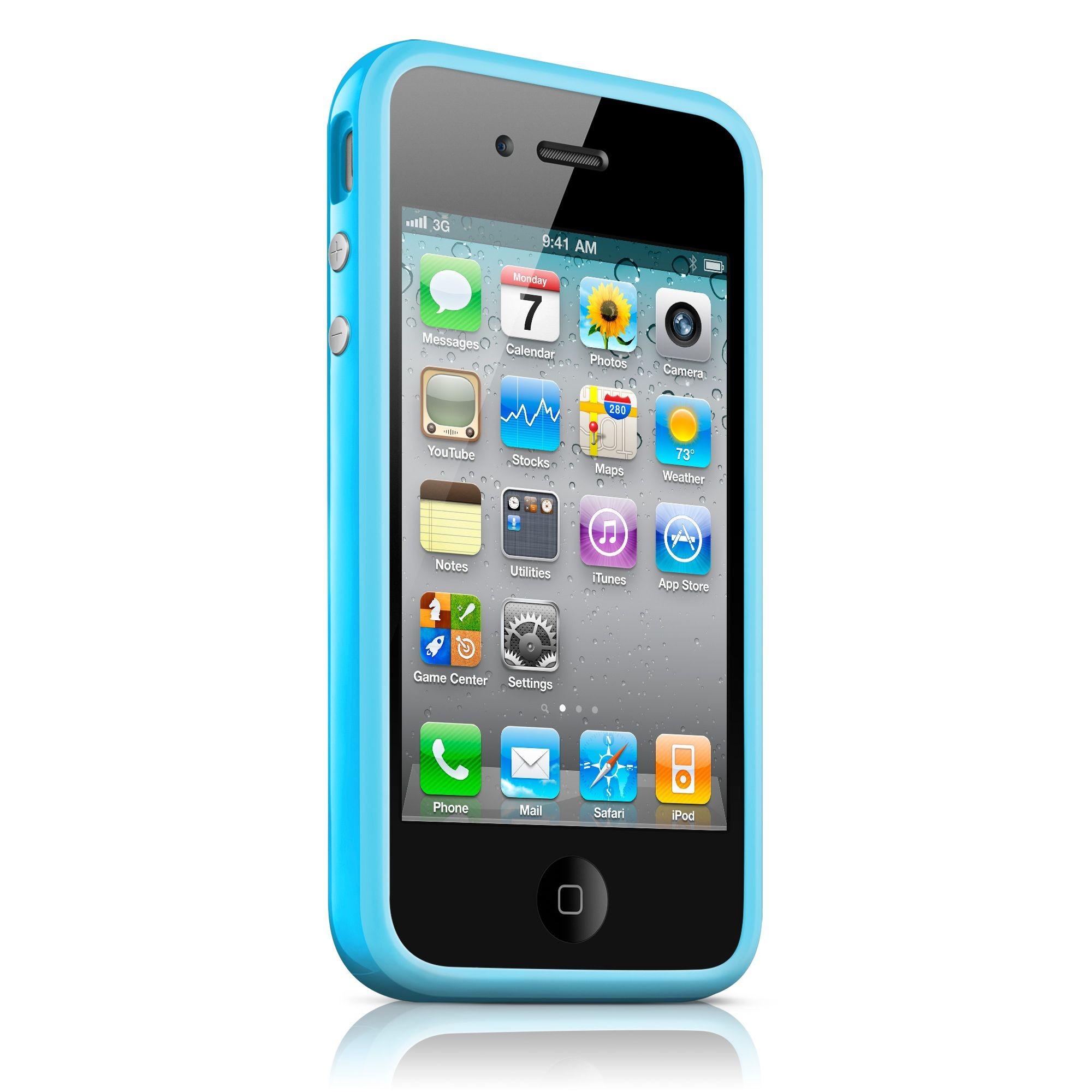 iPhone 4 / 4S Bumper Case - Blå
