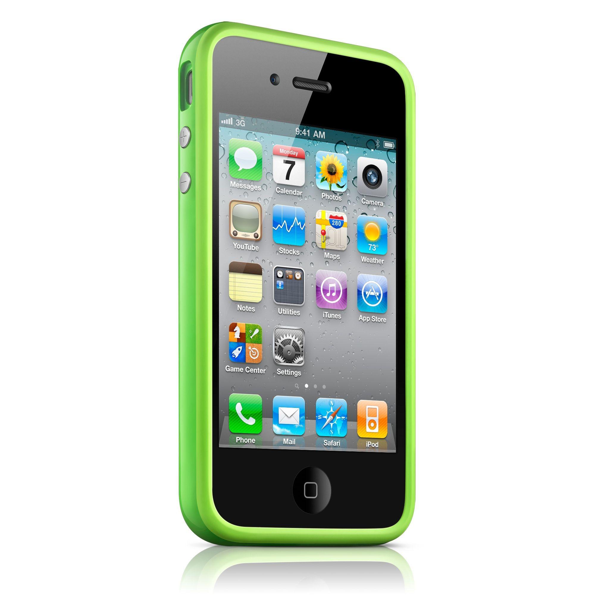 iPhone 4 / 4S Bumper Case - Grøn
