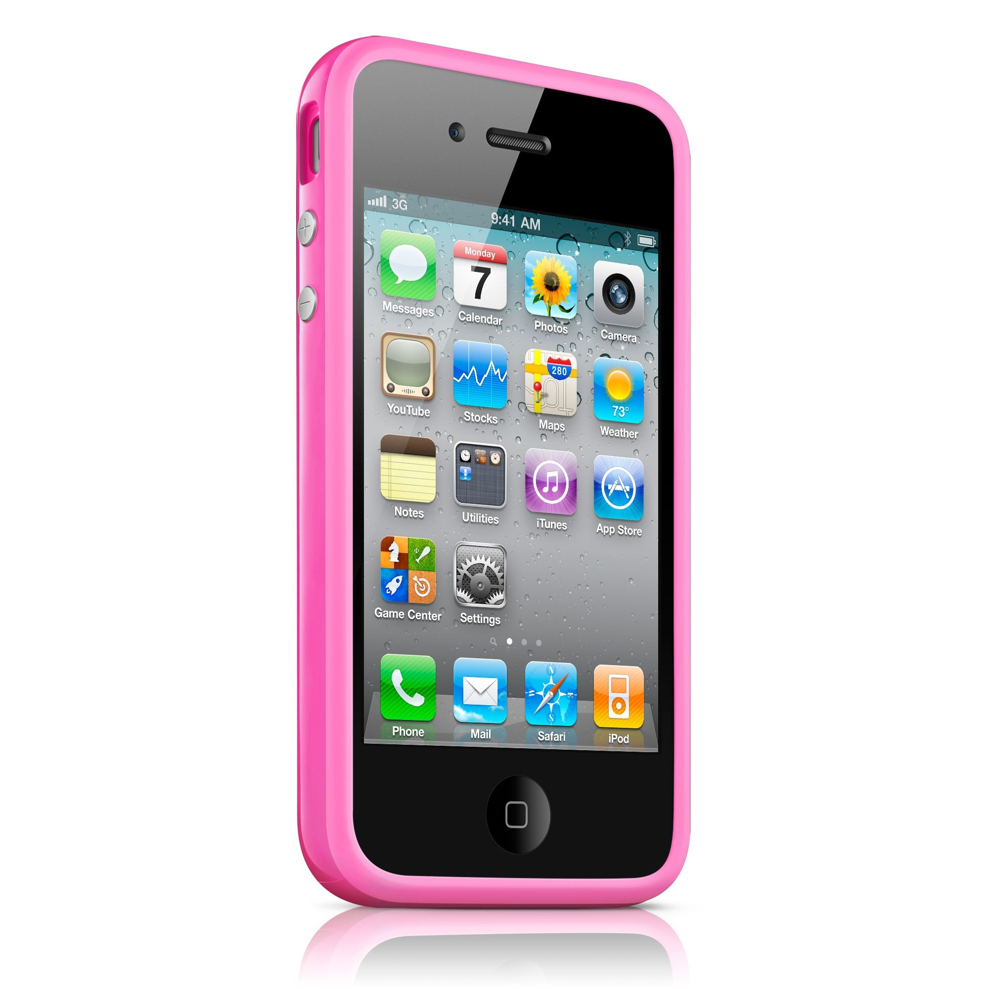iPhone 4 / 4S Bumper Case - Pink