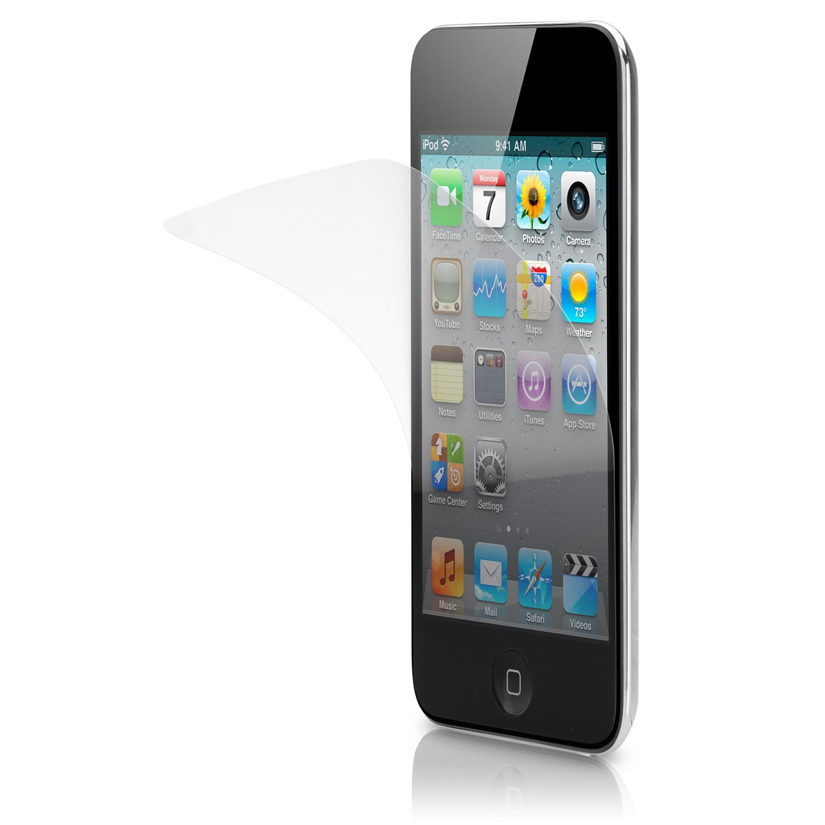 Display Beskyttelsesfilm til iPod Touch 2nd/3rd Gen. med Anti Glare