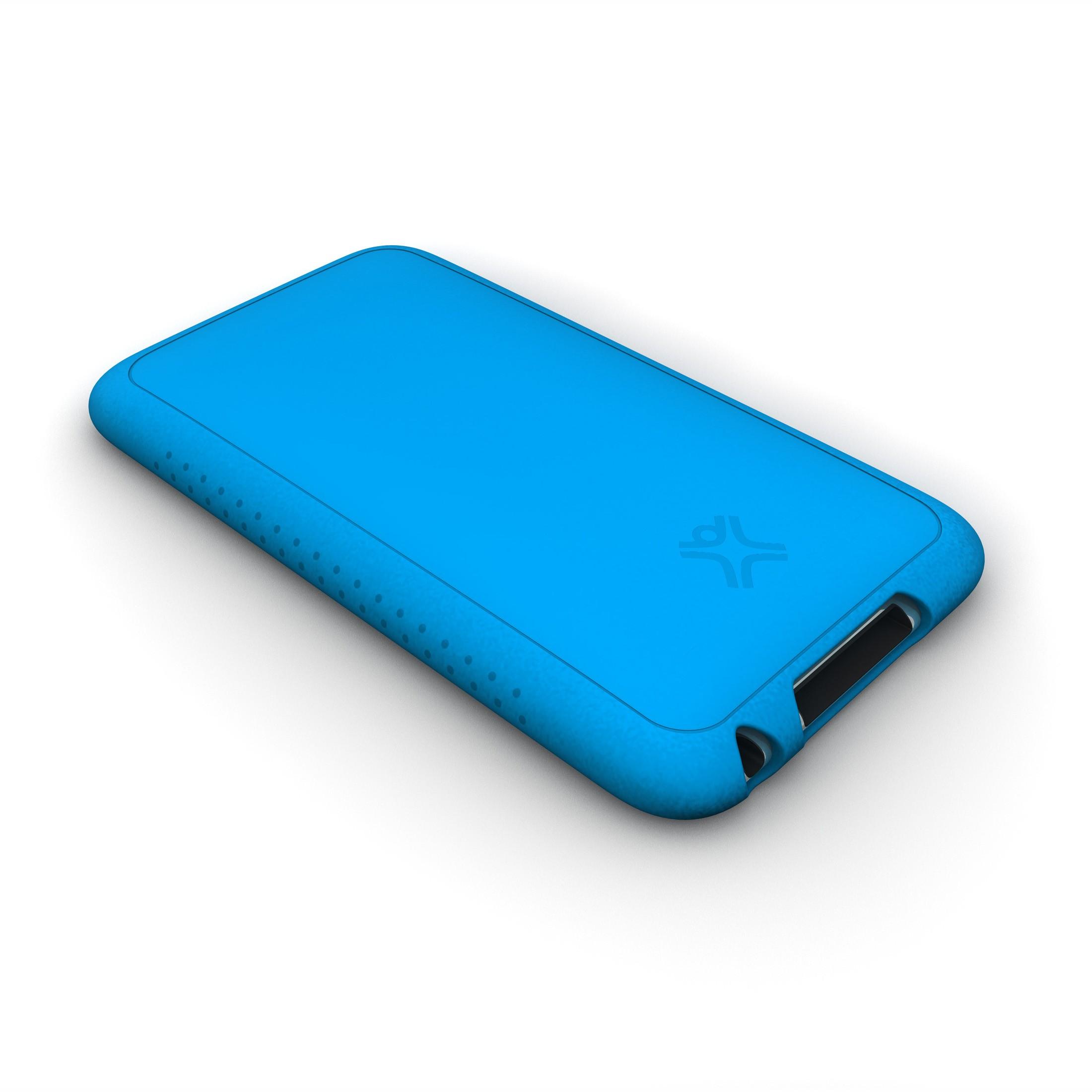 XtremeMac Tuffwrap til iPod Touch 3G Inkl. Skærmfolie - Blå