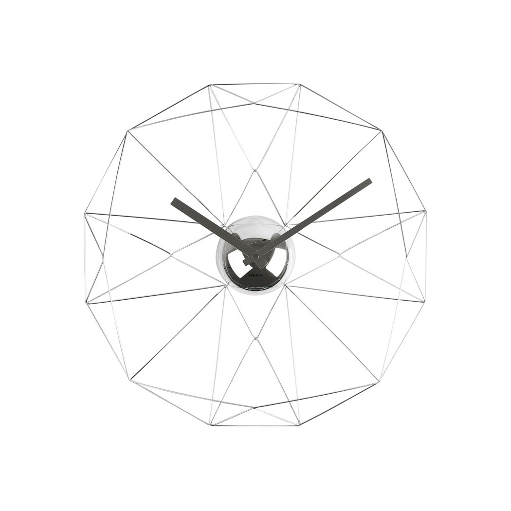 Karlsson Diamond Web Vægur 38cm