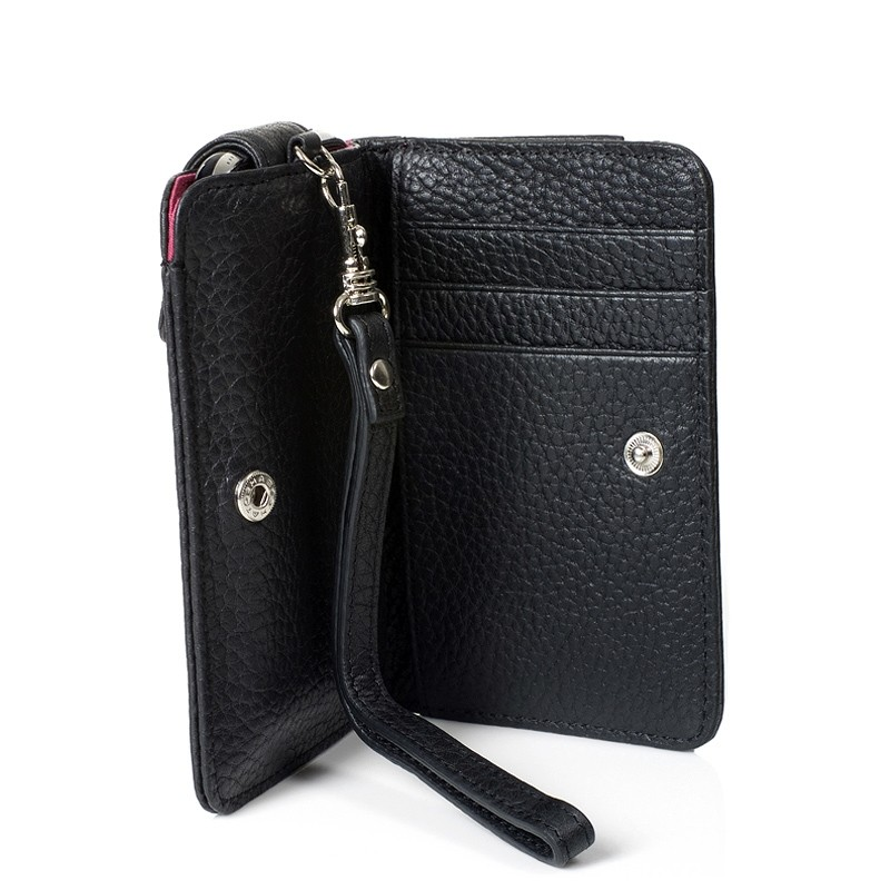 Knomo iPhone Wristlet - Sort