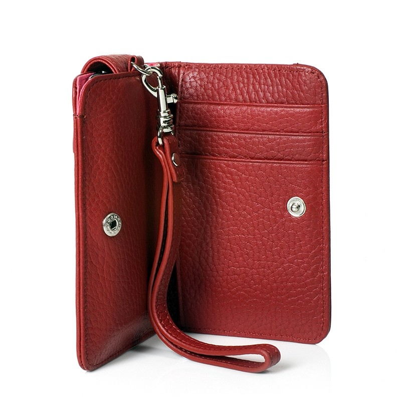 Knomo iPhone Wristlet - Rød