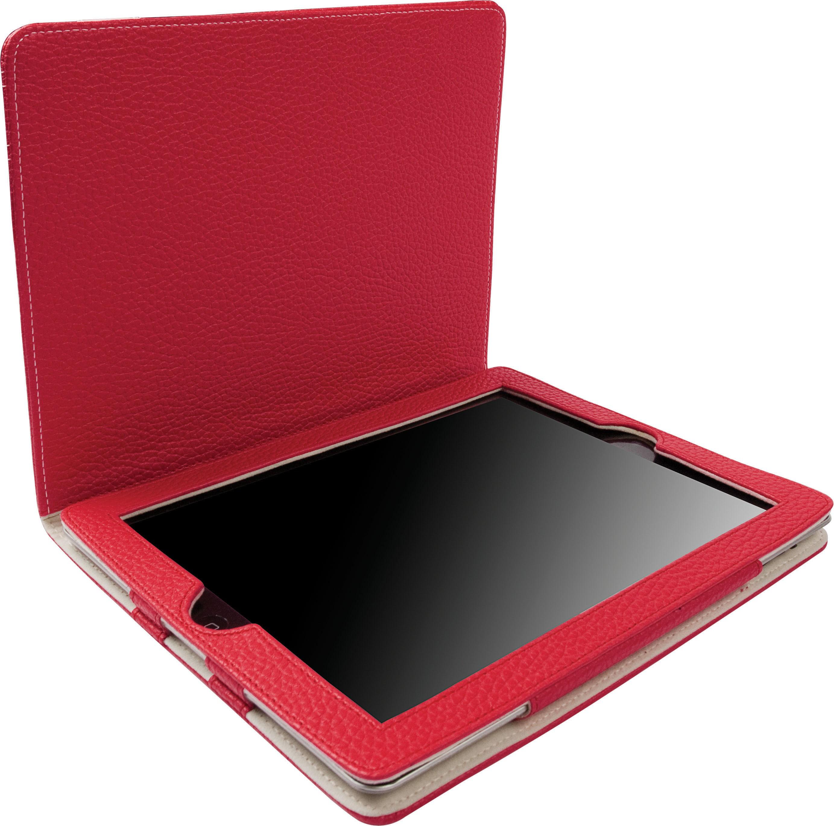 Krusell Gaia iPad 2 / 3 / 4 Tablet Case - Rød