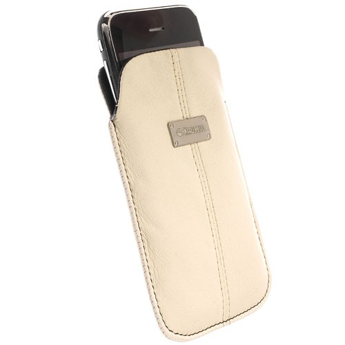 Krusell Luna Pouch Large - Sand / Sort
