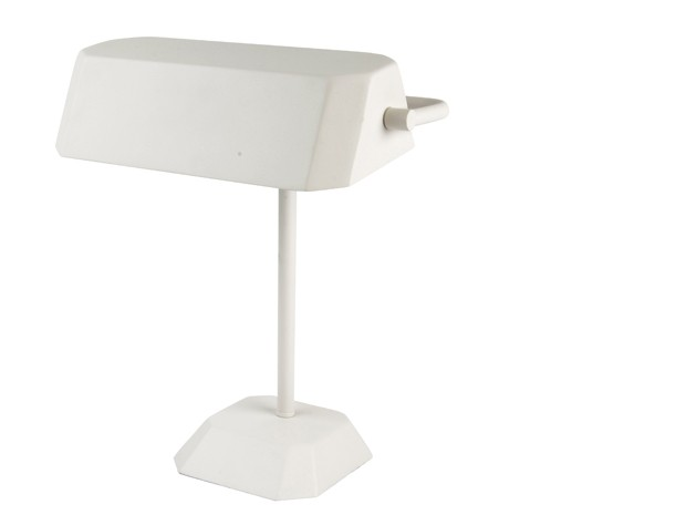 Leitmotiv Table Lamp Metal Notary - Hvid