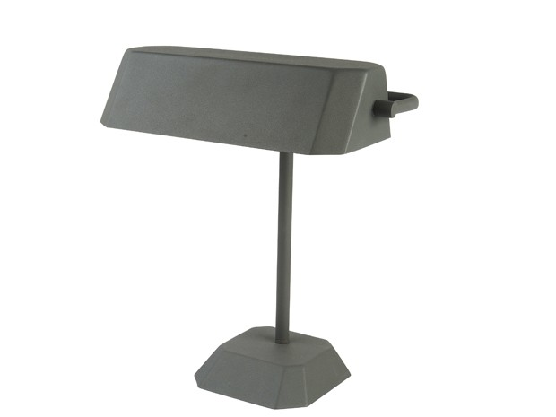 Leitmotiv Table Lamp Metal Notary - Grå