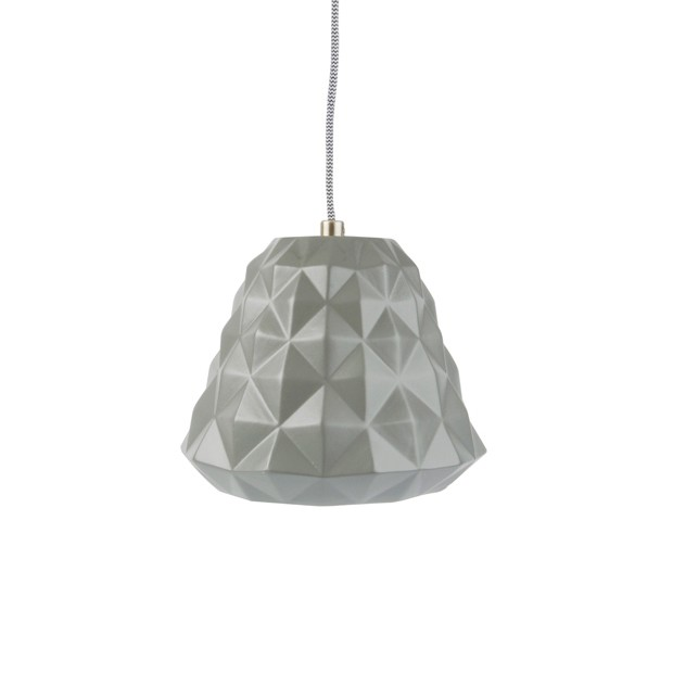 Leitmotiv Pendant Lamp Cast Mini Ceramic - Grå