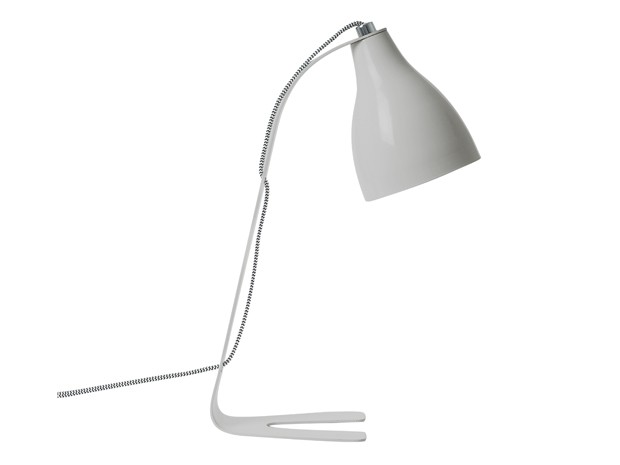 Leitmotiv Table Lamp Barefoot - Lysegrå