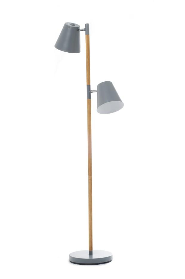 Leitmotiv Floor Lamp Rubi - Grå