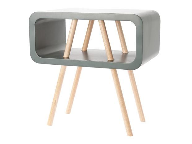 Leitmotiv Open Minded Sidebord / Sofabord LARGE - Grå