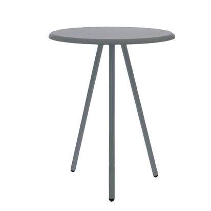 Leitmotiv Side table Tritable Wood - Mørk Grå