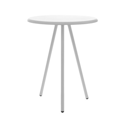 Leitmotiv Side table Tritable Wood - Hvid