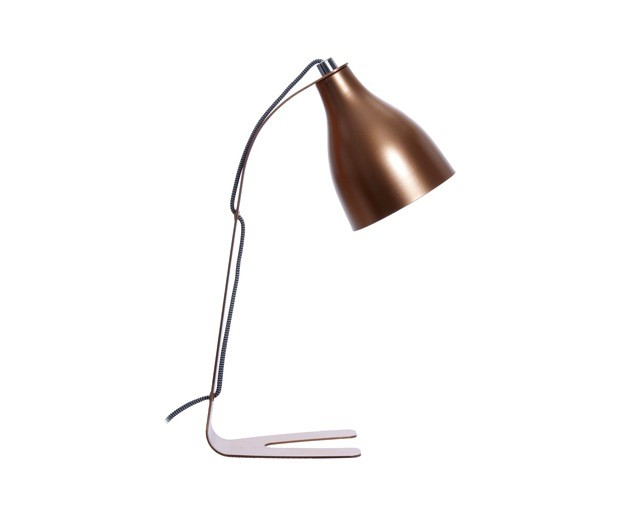 Leitmotiv Table Lamp Barefoot - Kobber