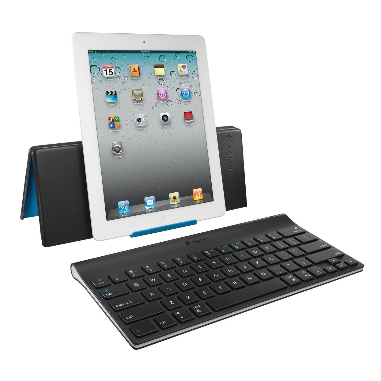 Logitech Tablet Keyboard DK til iPad - Sort