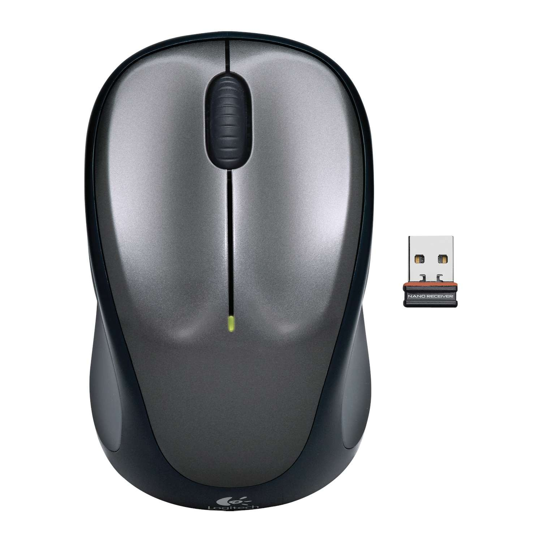 Logitech Wireless Mus M235 m/ Nano Modtager - Grå