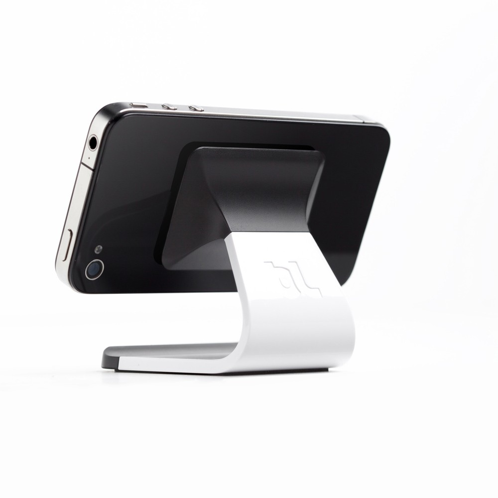 Bluelounge Milo Micro-Suction Stand til Smartphones - Hvid