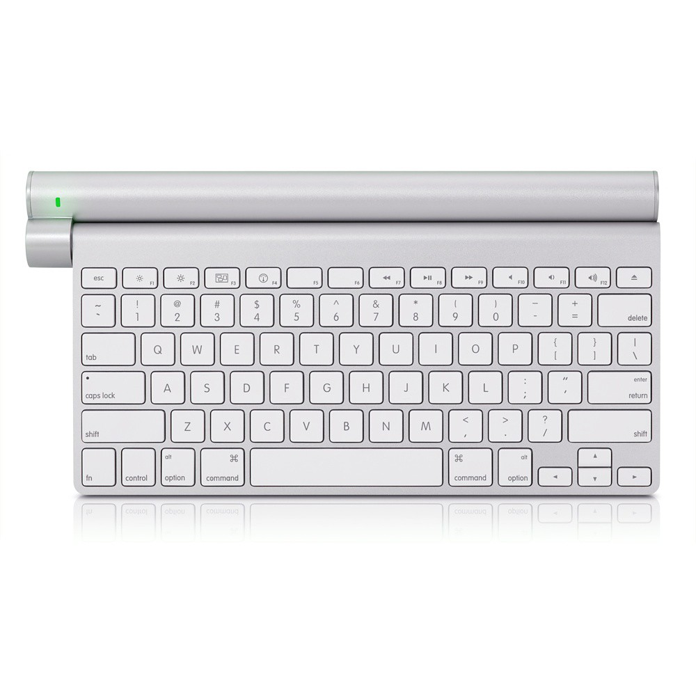 Mobee Magic Bar Batteri + Oplade Station til Apple Trådløs Tastatur / Magic Trackpad
