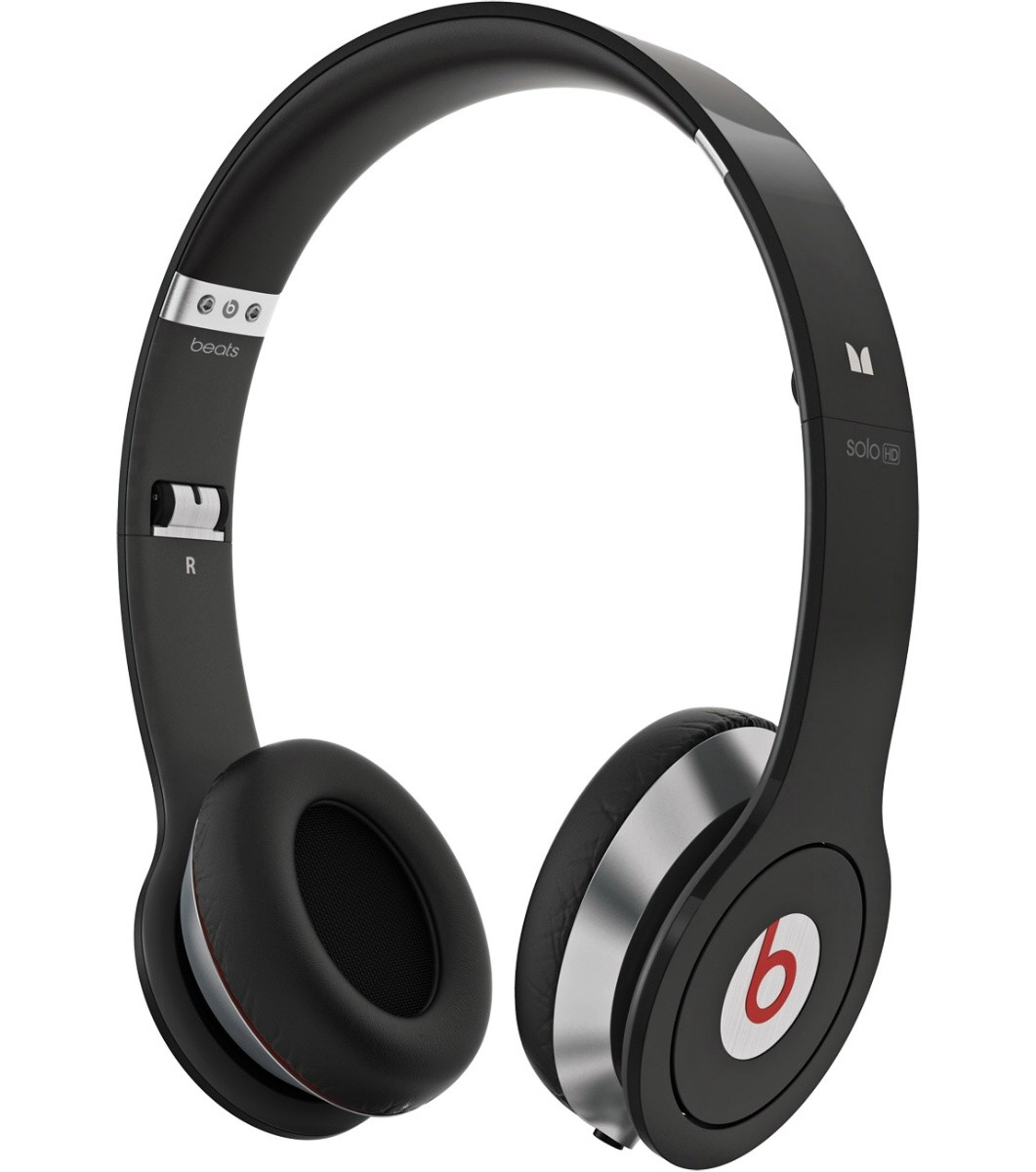 Monster Beats Dr. Dre Solo HD m/ Control Talk - Sort