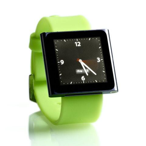 Urrem til iPod Nano 6G - Grøn