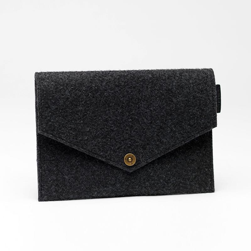P.A.P Majvallen iPad Mini Envelope Filt Cover - Mørkegrå