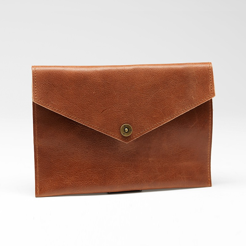 P.A.P Majvallen iPad Mini Envelope Læder Cover - Lysebrun